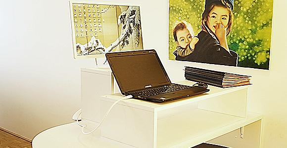 Office Inspiration: Stehschreibtisch einfach